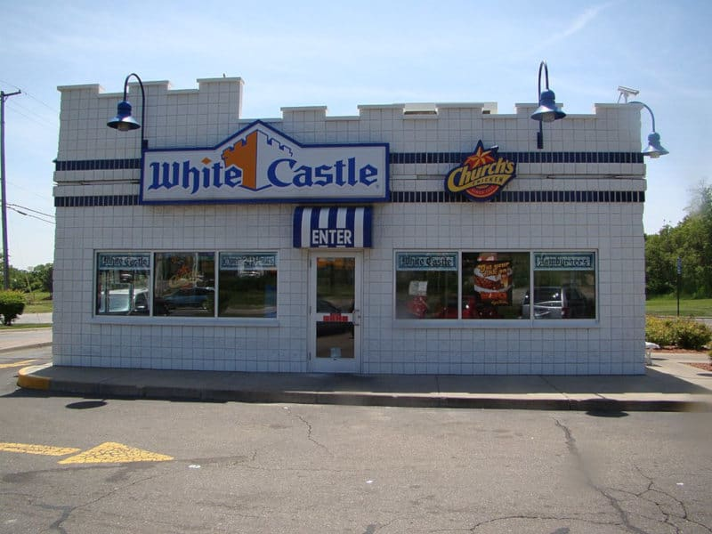 white castle burger